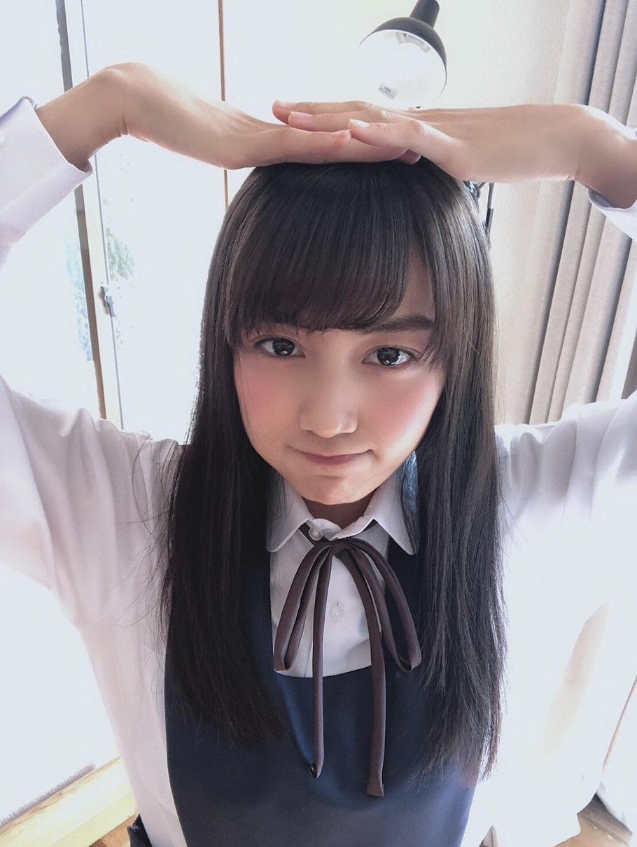 黒木ひかり/少年サンデー・撮影オフショット