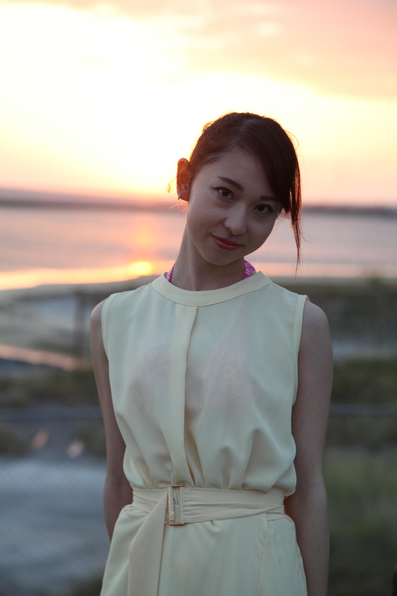たかがきかれん(高垣かれん)/石垣島で撮影された2nd DVD「華奢美人」