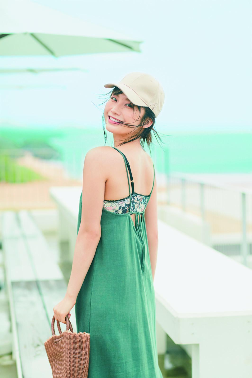 小倉優香/女性誌「with」7月号でモデルデビュー 講談社with Ⓒ三瓶康友