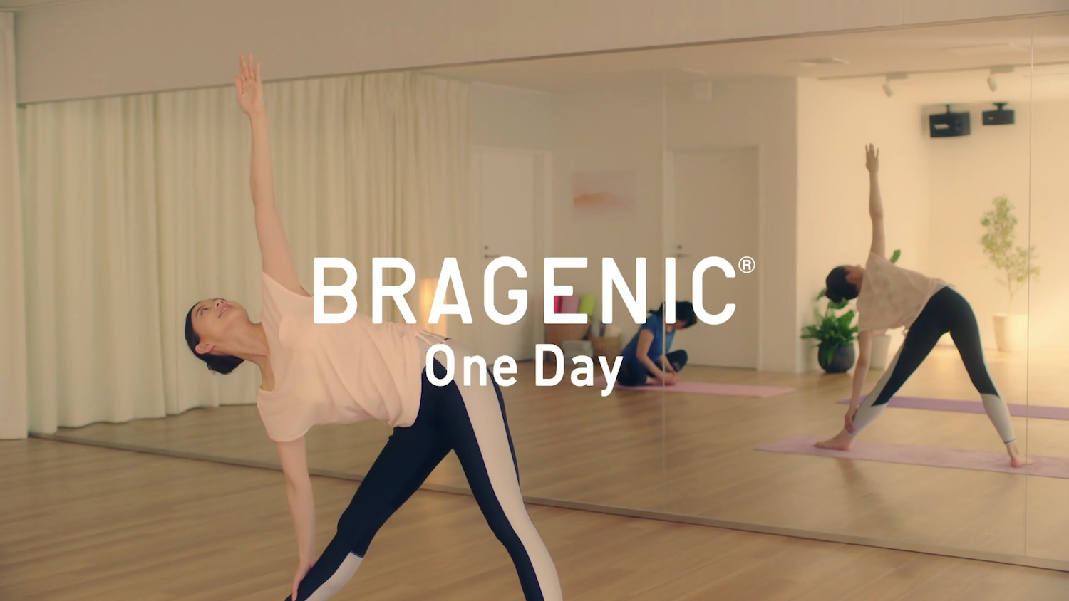 朝比奈彩/BRAGENIC One Day WEB Movieより