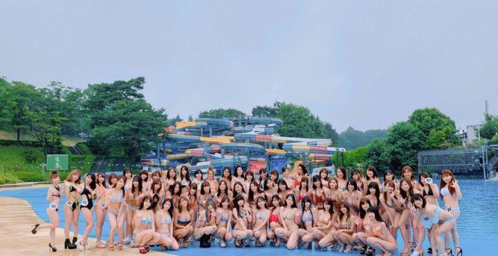 第2回サンスポGOGOクィーン撮影会(2019年6月30日(日)埼玉県所沢市の西武園遊園地内の屋外プールにて)