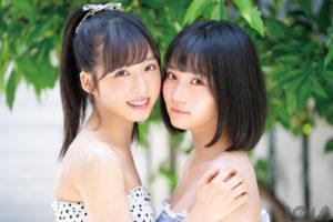 小栗有以・矢作萌夏(AKB48)/ボム2019年7月号