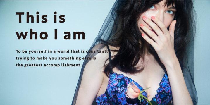 ランジェリーブランド・RAVIJOUR (ラヴィジュール)2020 Spring Collection「This is who I am」(春を彩る新作ランジェリー)