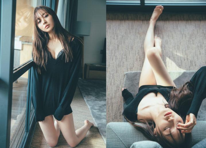 梅澤美波(乃木坂 46)、美脚際立つ姿 披露!1st 写真集『夢の近く』 先行カット解禁!