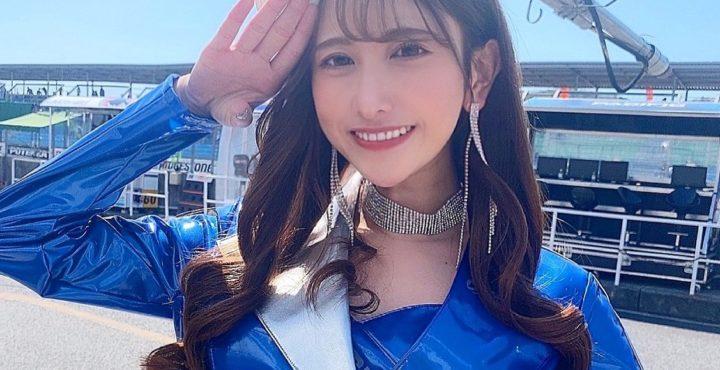 名取くるみ、レースクイーンデビュー「Pacific fairies」