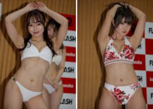 『ミスFLASH2022 選考オーディション』候補者50名お披露目会見