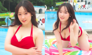 清水布乃花/2021年7月3日、撮影会にて