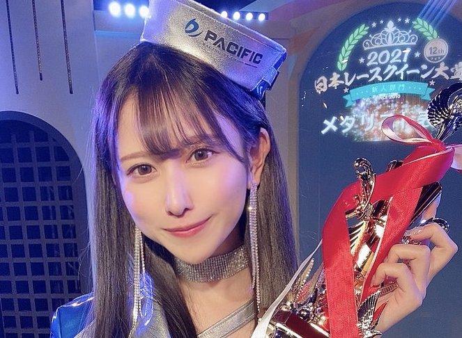 名取くるみ、日本レースクイーン大賞2021新人部門メダリスト