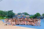 西武園ゆうえんち・プール撮影会にグラビアアイドル72名が集結!第2回『サンスポGoGoクイーン』オーディション予選スタート!