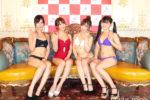 和久井雅子・海里・白宮奈々・大條美唯、東京Lily4周年を祝福!4年前と4年後について語り、グラビア活動への熱意明かす!